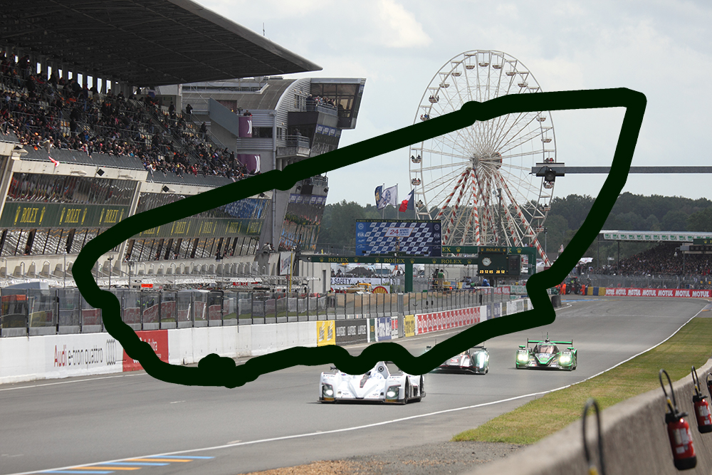 Circuit Of 24h Le Mans Cancelled Fast Toys Club